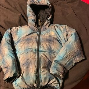 The North Face reversible down jacket Boys Size 6